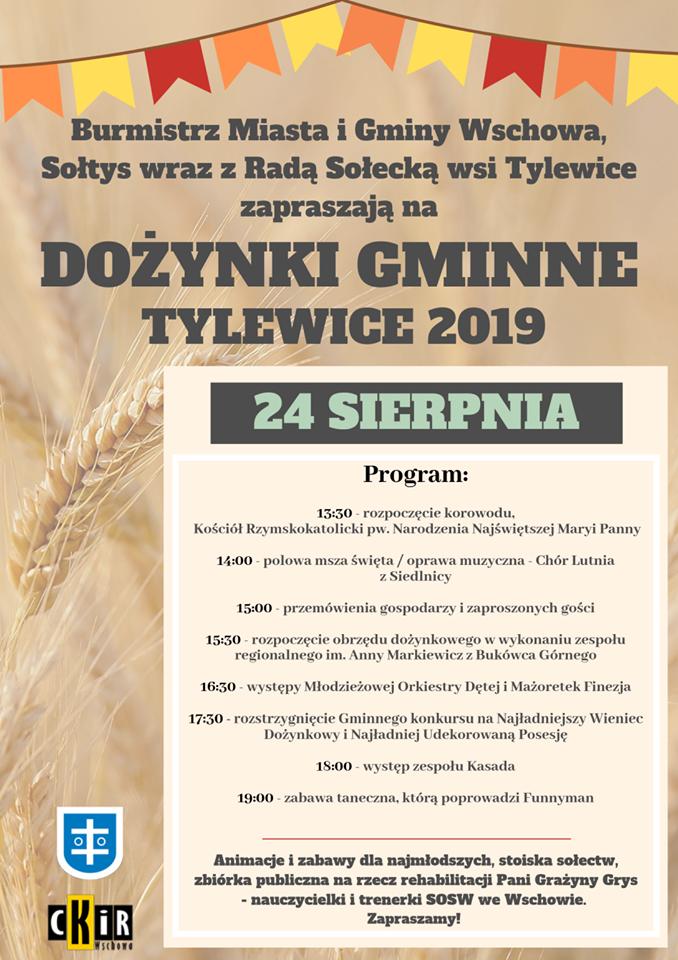 Dożynki gminne Tylewice