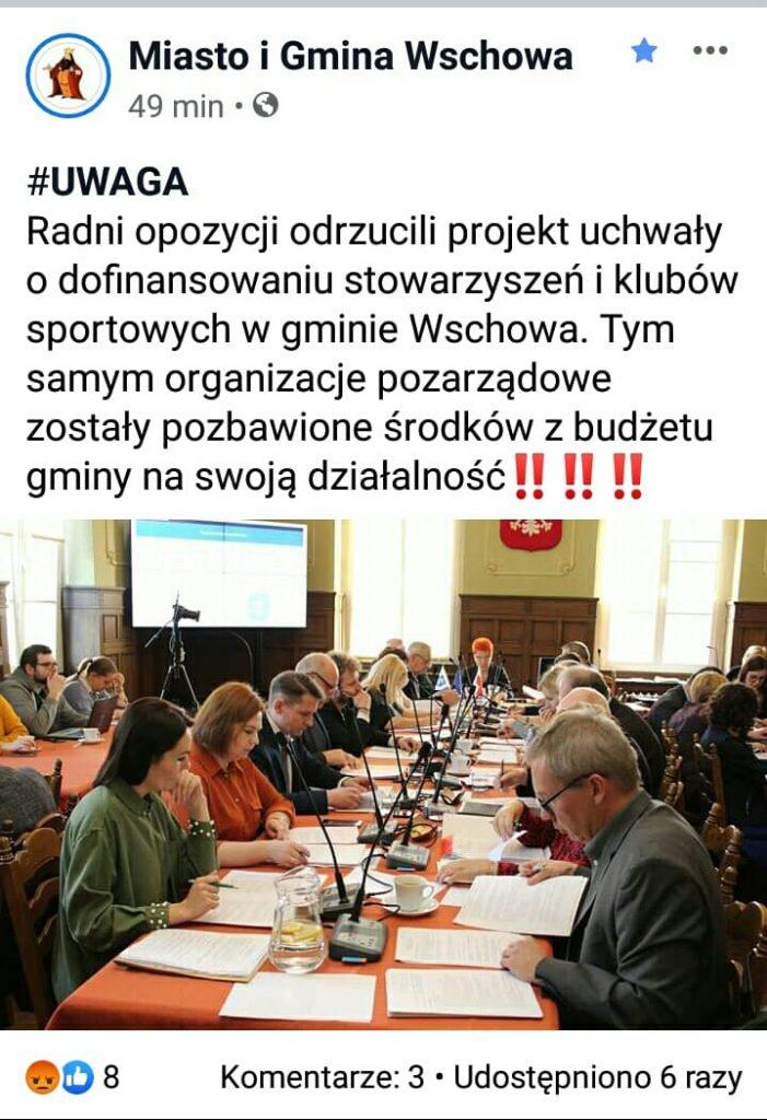Rada Miejska Wschowa